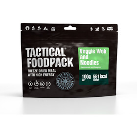 Tactical Foodpack Freeze Dried Meal 100g, Veggie Wok and Noodles